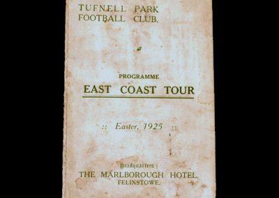 Tufnell Park FC - Tour of Norfolk - Easter 1925