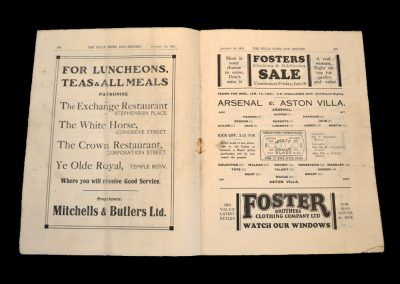 Aston Villa v Arsenal 14.01.1931 - FA Cup 3rd Round Replay