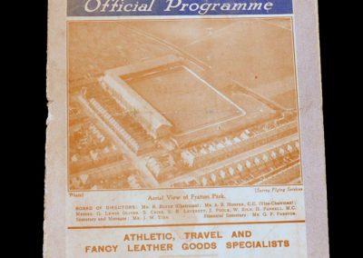 Portsmouth v Arsenal 03.04.1931