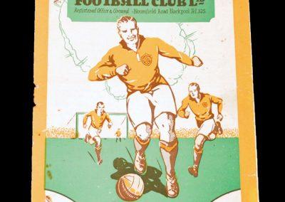 Blackpool v Arsenal 10.10.1931