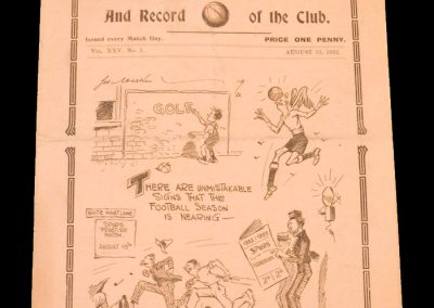 Whites v Stripes 13.08.1932 - Spurs Practice Game