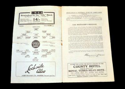 England v Wales 15.11.1933