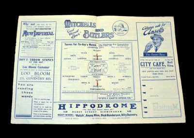Leicester v Portsmouth 17.03.1934 - FA Cup Semi Final