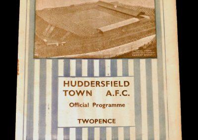 Huddersfield Reserves v Sheff Utd Reserves 13.10.1934