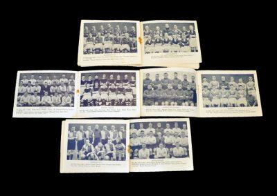 1934/35 Season Team Photos