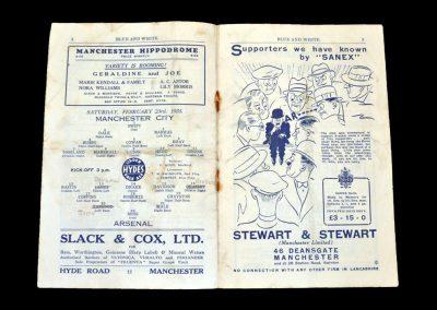 Man City v Arsenal 23.02.1935