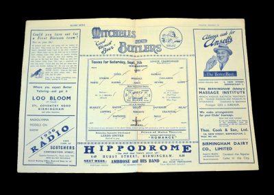 Birmingham v Arsenal 07.09.1935
