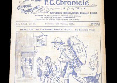 Chelsea v Arsenal 12.10.1935