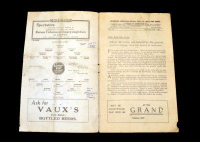 Sunderland v Arsenal 28.12.1935