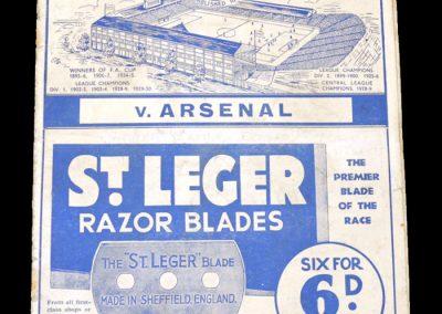 Sheff Wed v Arsenal 18.01.1936