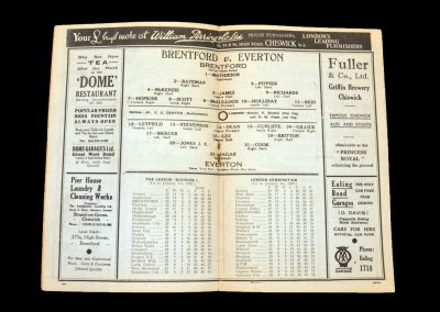 Brentford v Everton 02.01.1937