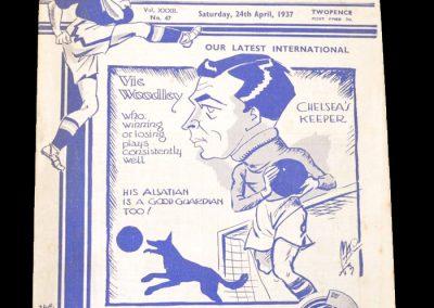 Chelsea v Arsenal 24.04.1937