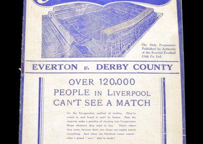 Everton v Derby 07.05.1938