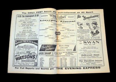 Liverpool v Arsenal 12.11.1938