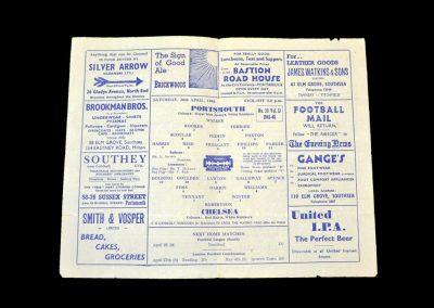 Portsmouth v Chelsea 20.04.1946
