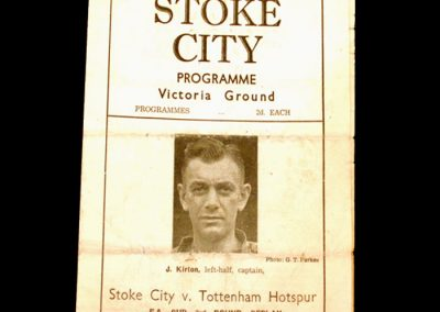 Stoke v Spurs 15.01.1947 - FA Cup 3 Round Replay
