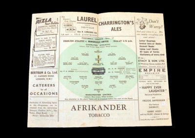 Charlton v Man Utd 07.09.1946
