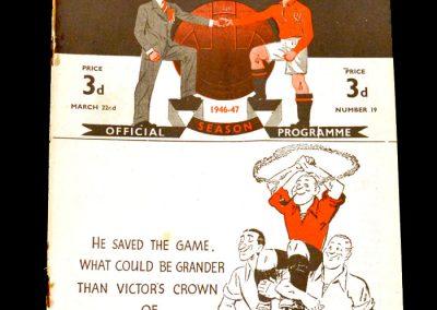 Man Utd v Everton 22.03.1947