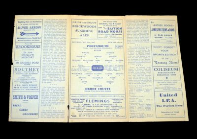 Portsmouth v Derby 31.05.1947