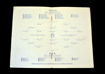 Italy v USA 02.08.1948 (Olympics)