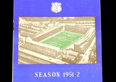 Everton v Notts County 20.10.1951