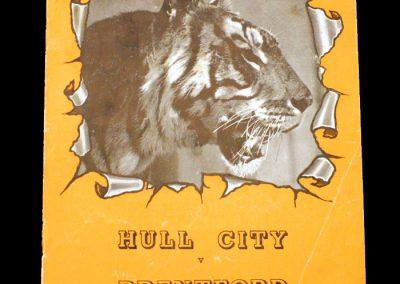 Hull v Brentford 30.08.1952