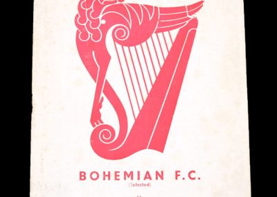 Bohemians v York 20.05.1955