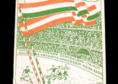 Austria v Hungary 16.10.1949