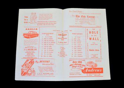 Cliftonville v Portadown 02.04.1955