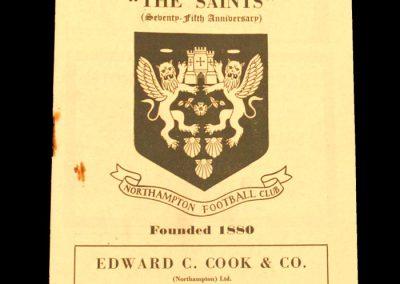 Northampton v St Marys 02.04.1955 (Rugby Union)
