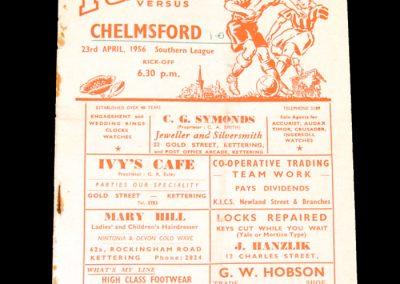 Kettering v Chelmsford 23.04.1956