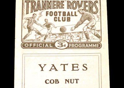 Tranmere v Brentford 11.10.1958