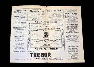 Chesterfield v Brentford 21.02.1959
