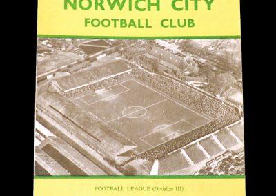 Norwich v Brentford 04.04.1959