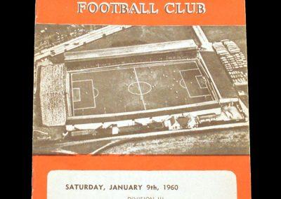 Swindon v Brentford 09.01.1960