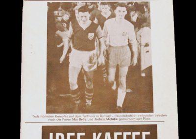 Hamburg v Burnley 15.03.1961 - European Cup Quarter Final 2nd Leg