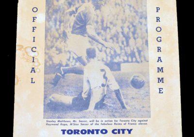 Toronto v Reims 24.06.1961