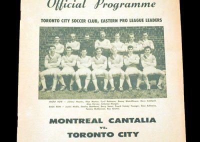 Toronto v Montreal 12.07.1961
