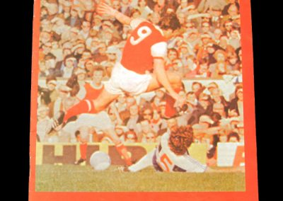 Arsenal v Spurs 22.11.1977 (Pat Rice Testimonial)