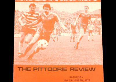 Aberdeen v Hibs 29.12.1979 (postponed)