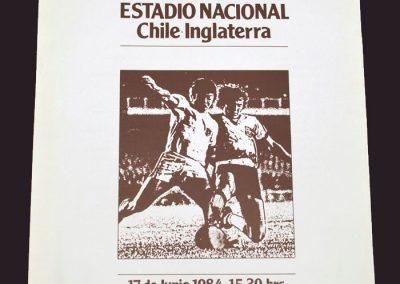 Chile v England 17.06.1984