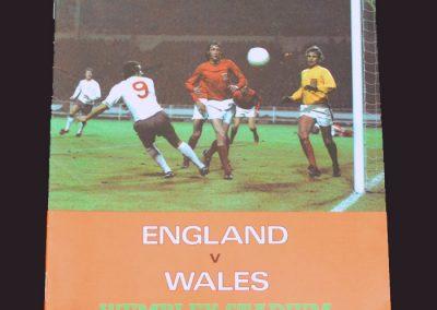 England v Wales 15.05.1973