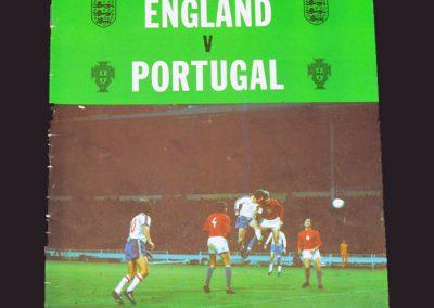 England v Portugal 20.11.1974