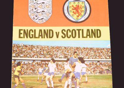 England v Scotland 24.05.1975