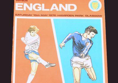Scotland v England 15.05.1976