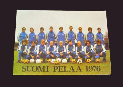 Finland v England 13.06.1976
