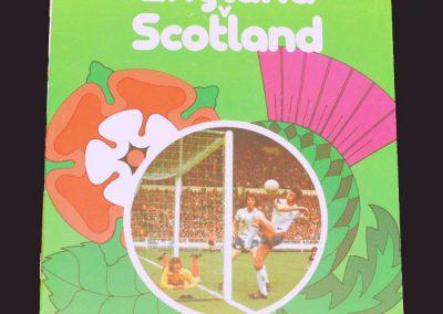England v Scotland 04.06.1977