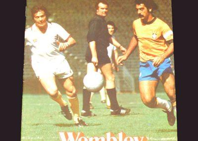 England v Brazil 19.04.1978