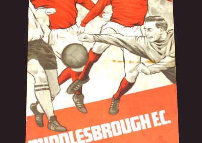 Middlesbrough v Preston 10.08.1968