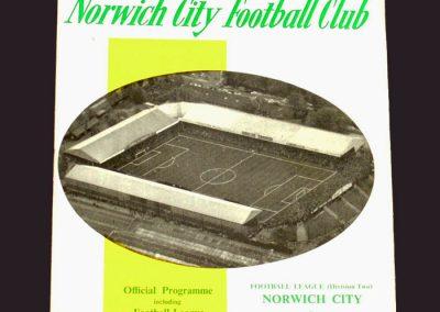 Norwich v Middlesbrough 14.08.1968